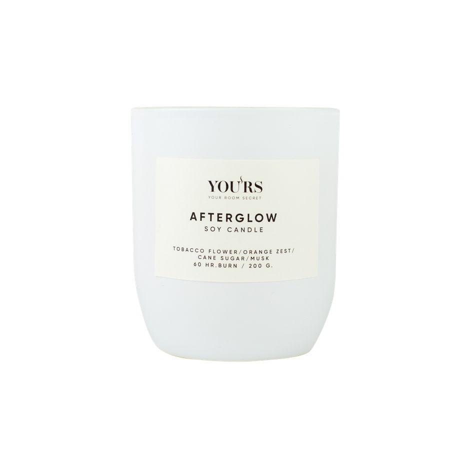 Ароматическая свеча из соевого воска Afterglow 200 гр