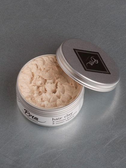 Глина для укладки волос Bro Cosmetics // сильная фиксация, матовый блеск