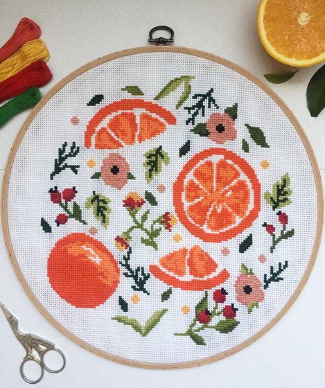 Настенное панно «Сочный апельсин»