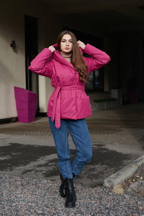 Теплая короткая куртка