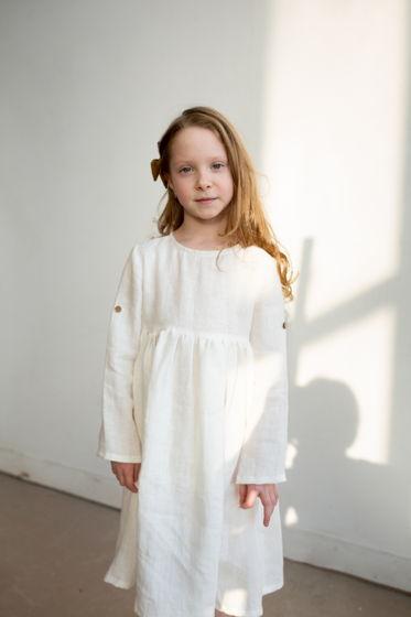 Льняное платье ПЛОМБИР 86-152