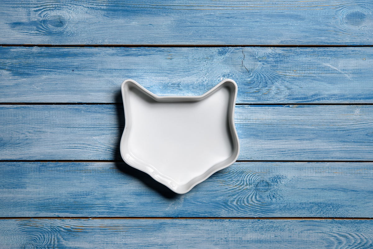 Керамическая мордочка кошки
