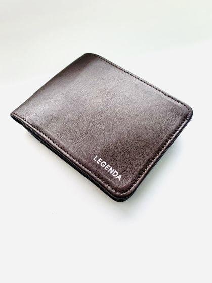 Кожаный кошелёк - бифолд с монетницей Vinkel