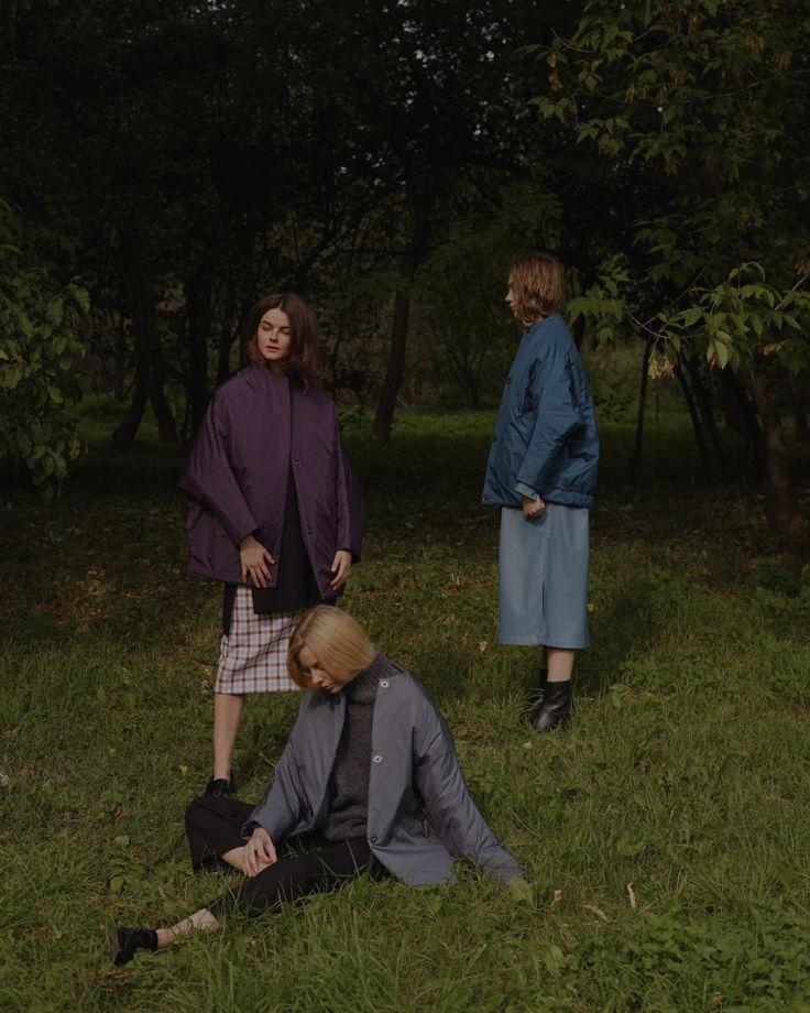 Куртка-кит re-edition фиолетовая