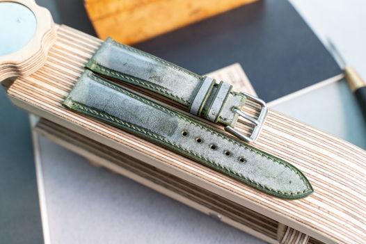Ремешок для часов с подиумом из кожи Camo Wax