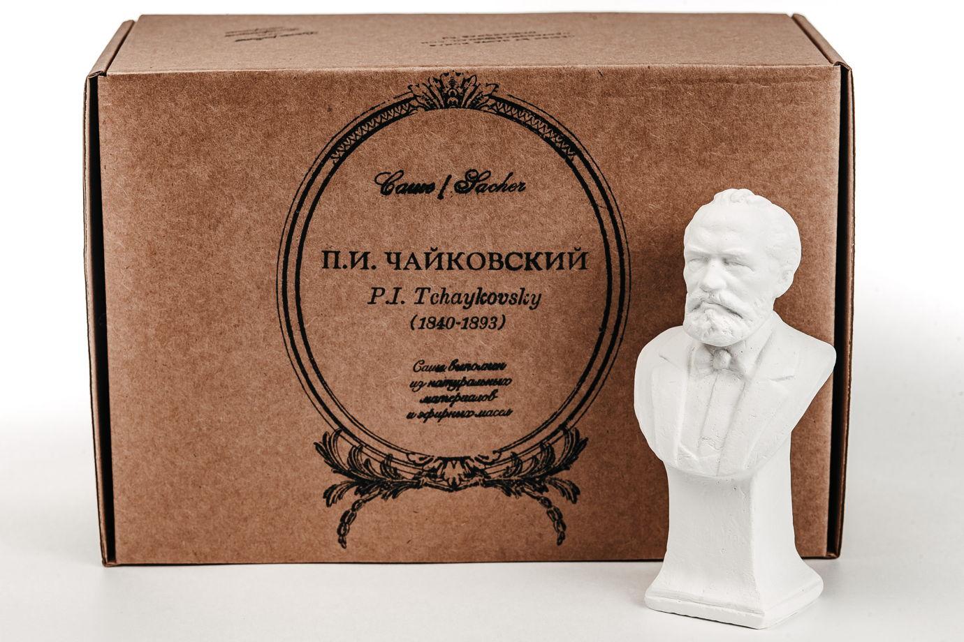 Кабинетная скульптура-саше П.И. Чайковский