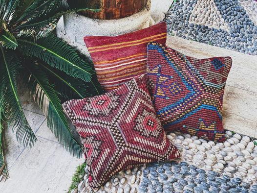 Чехлы на подушки килим