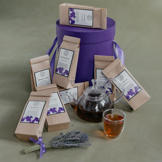 """Подарочный набор чая """"Чайный запас"""""""