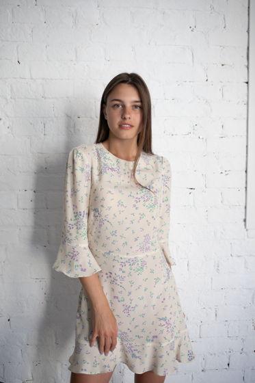 Платье Хлоя с лавандой