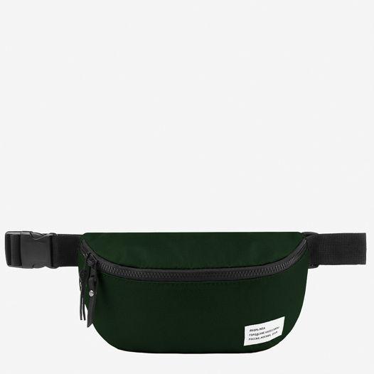 Большая барка темно-зеленая