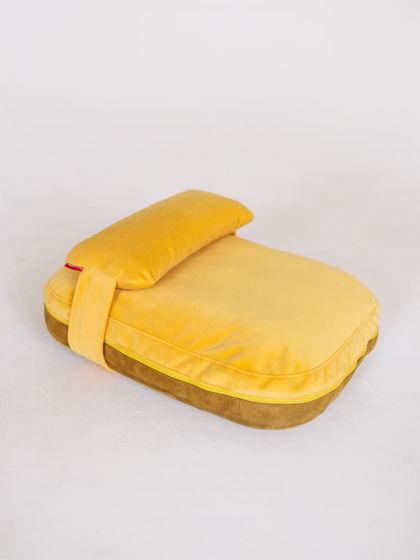 Лежанка-подушка PILLOW |  40x50 | Желтый — SUNNY MUSTARD