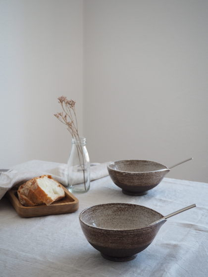 Керамическая миска/супница ручной работы