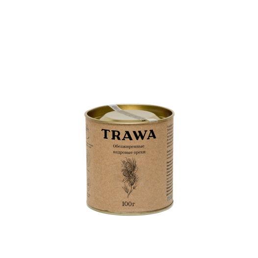 Обезжиренные кедровые орехи TRAWA, 100 гр