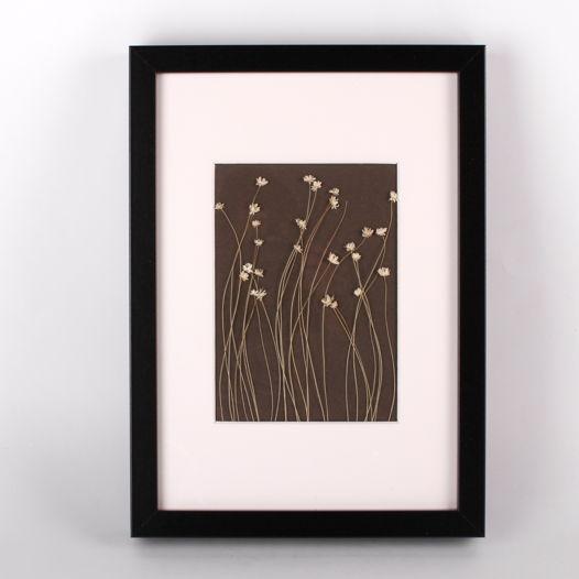 Картина-панно с сухоцветами