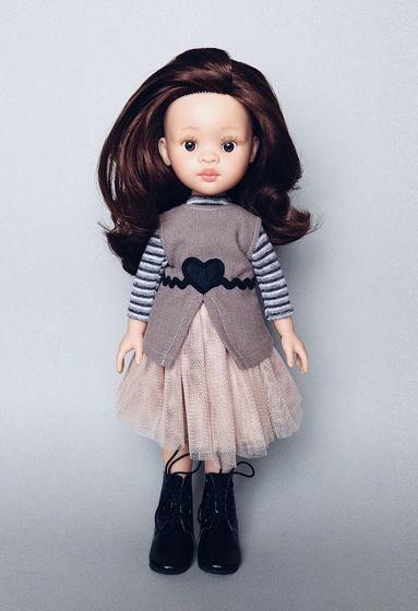Виниловая кукла Полина
