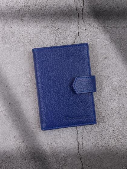 Обложка для автодокументов и паспорта Синий