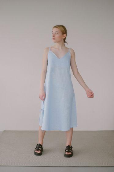 Платье - сорочка на завязках