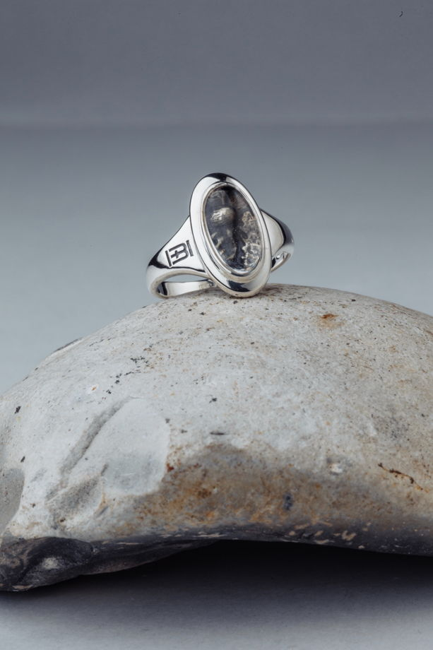 Серебряное кольцо Maquis