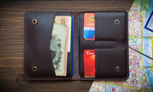 Документница бумажник, обложка на паспорт