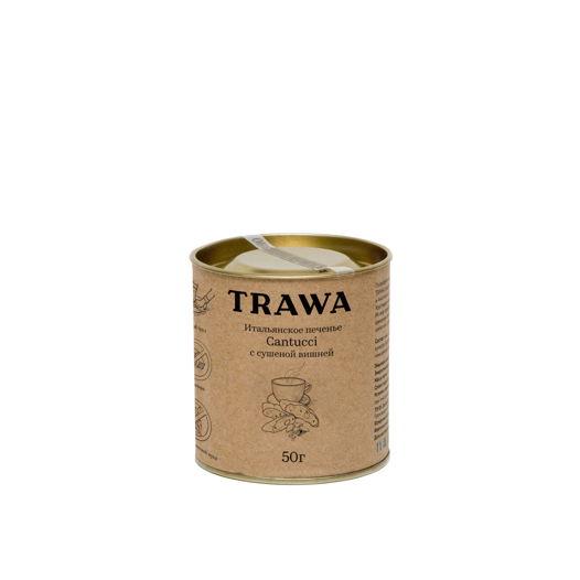 Кантуччи с Сушеной Темной Вишней от TRAWA, 50 гр