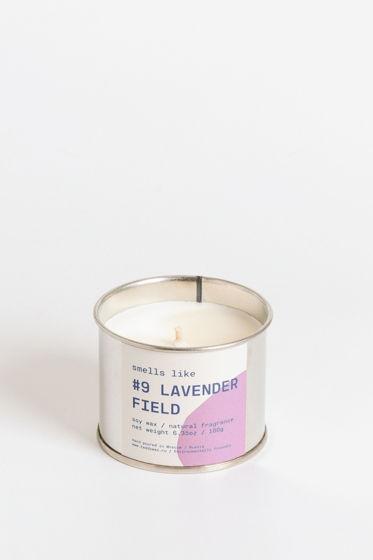 Свеча соевая Smells Like. #9 Lavender Field, 180г