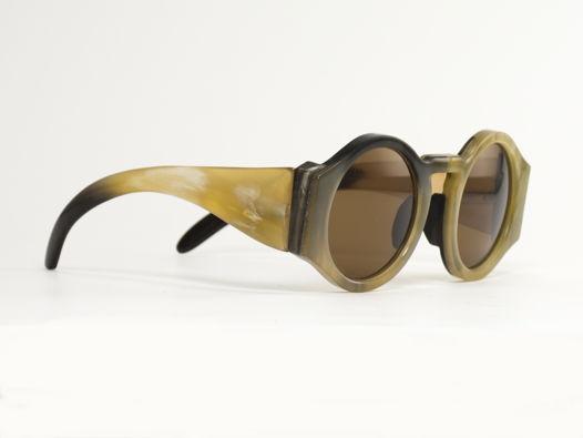 Роговые очки солнцезащитные