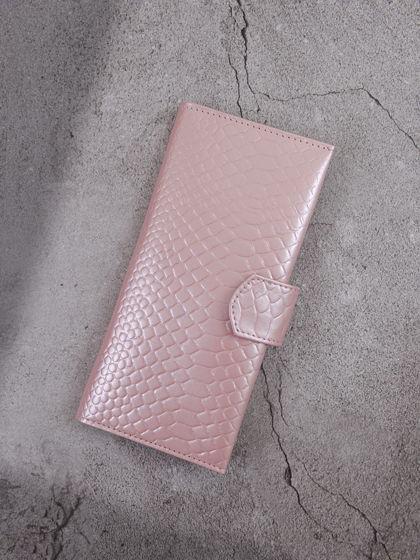 Лонгер для путешествий Питон Нежно-розовый