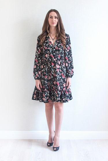 Платье с воланом Bloom