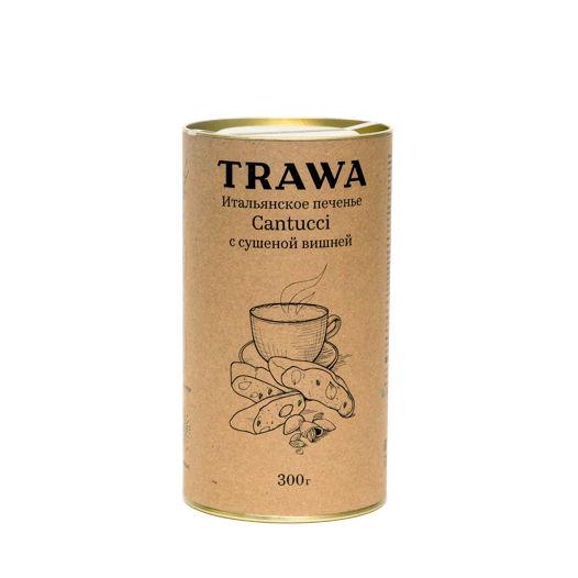 Кантуччи с Сушеной Темной Вишней от TRAWA, 300 гр