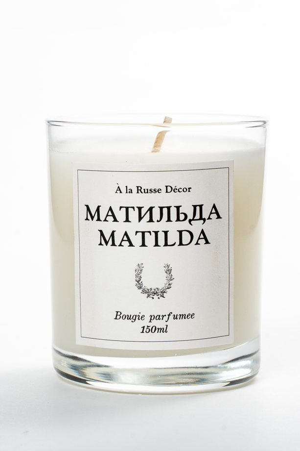 """Свеча в стеклянном стакане """"Матильда"""""""