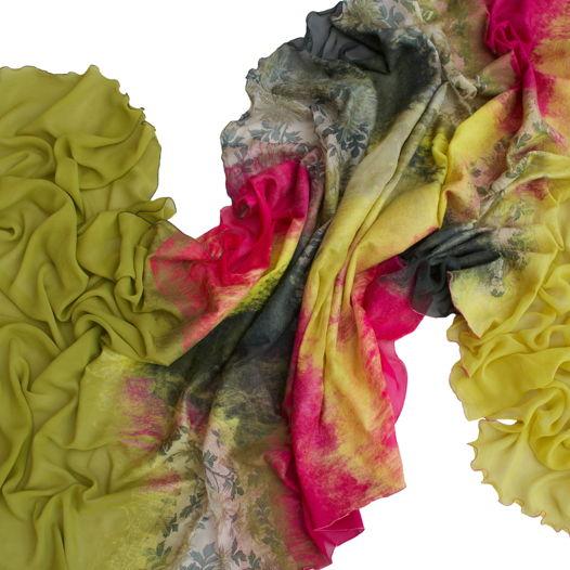 Шелковый шарф Июнь