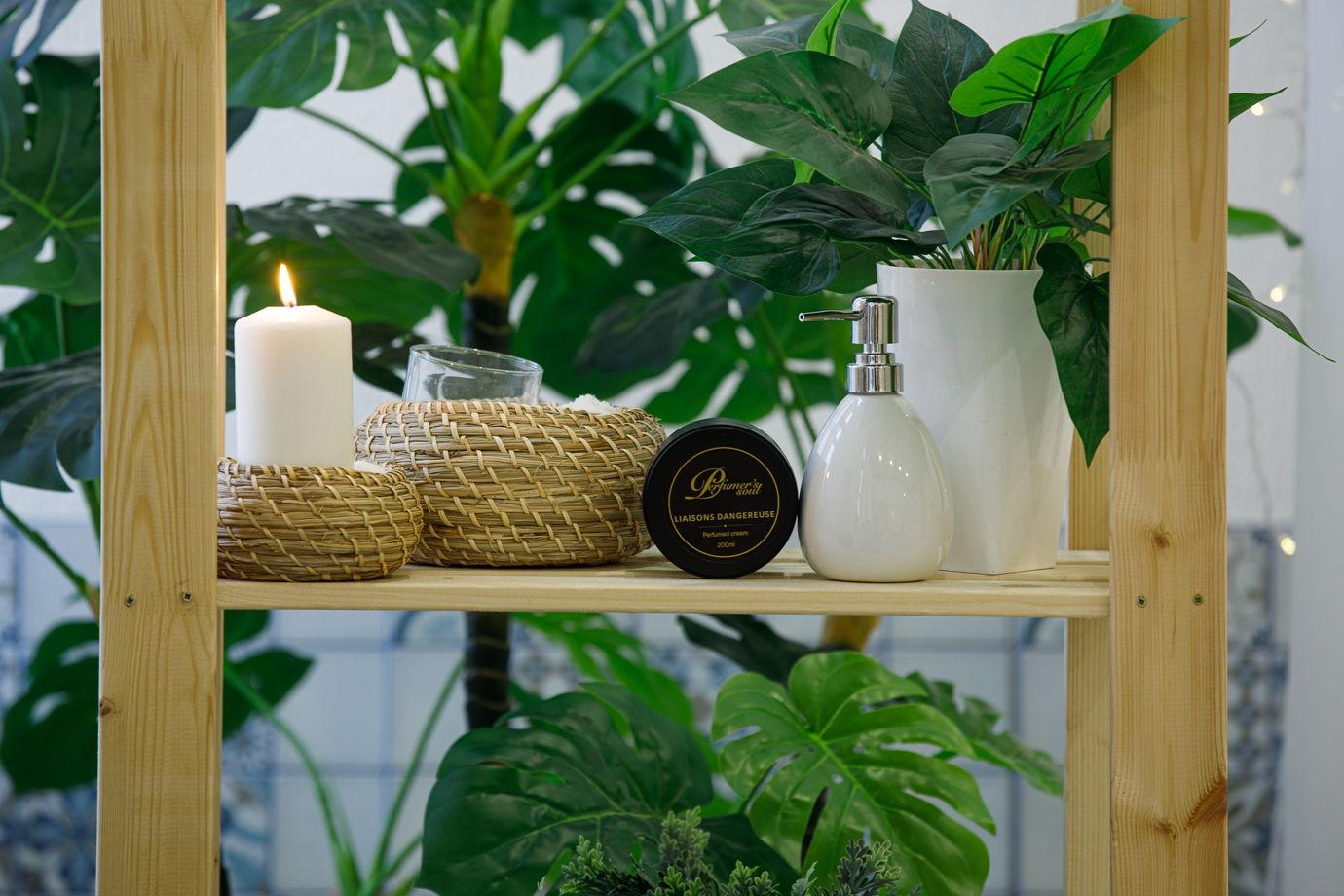 Парфюмированный крем для тела на основе аромата Liaisons Dangereuses