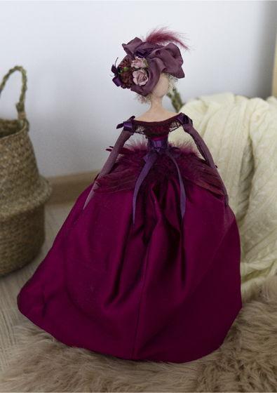 Интерьерная кукла для декора «Жизель»