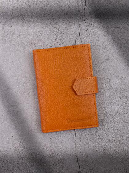 Обложка для автодокументов и паспорта Желтый