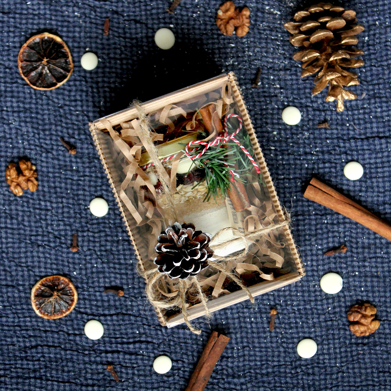 MINI Почти печенье в подарочной новогодней коробке