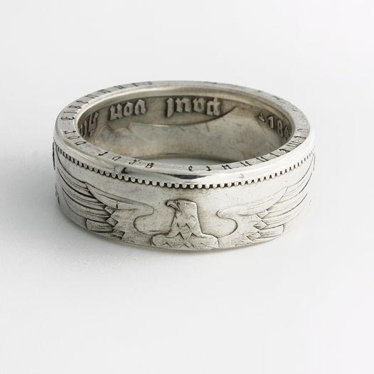 Кольцо из монеты - Германия 5 рейхсмарок