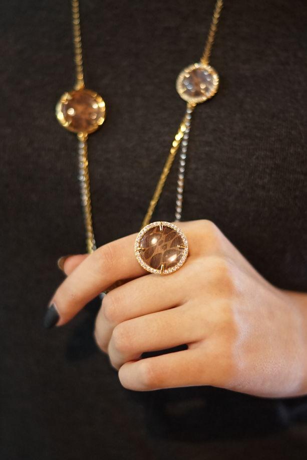 Кольцо  коллекции Кристалл