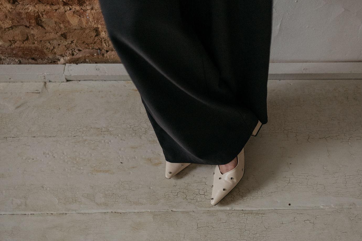 Брюки  джинсы Palazzo