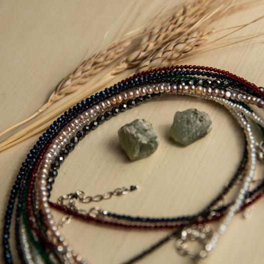 """Чокер из натуральных камней ручной работы из коллекции """"SECRET""""🔥"""