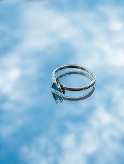 Серебряное кольцо Mounty