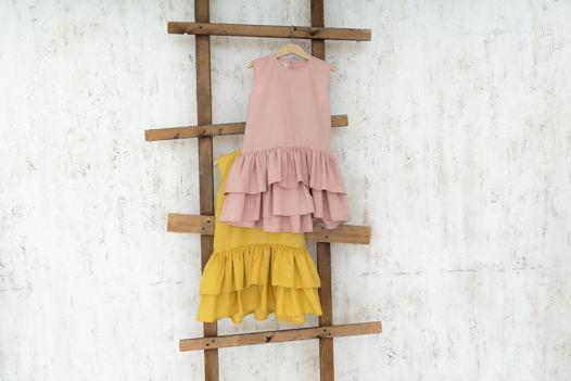 """Платье из хлопка с воланами """"Holly"""""""