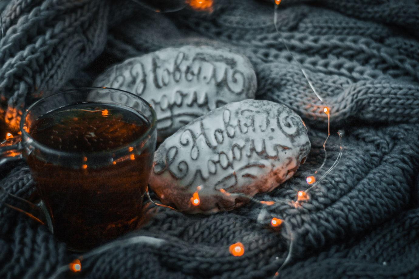 Медовый печатный пряник « С Новым Годом»
