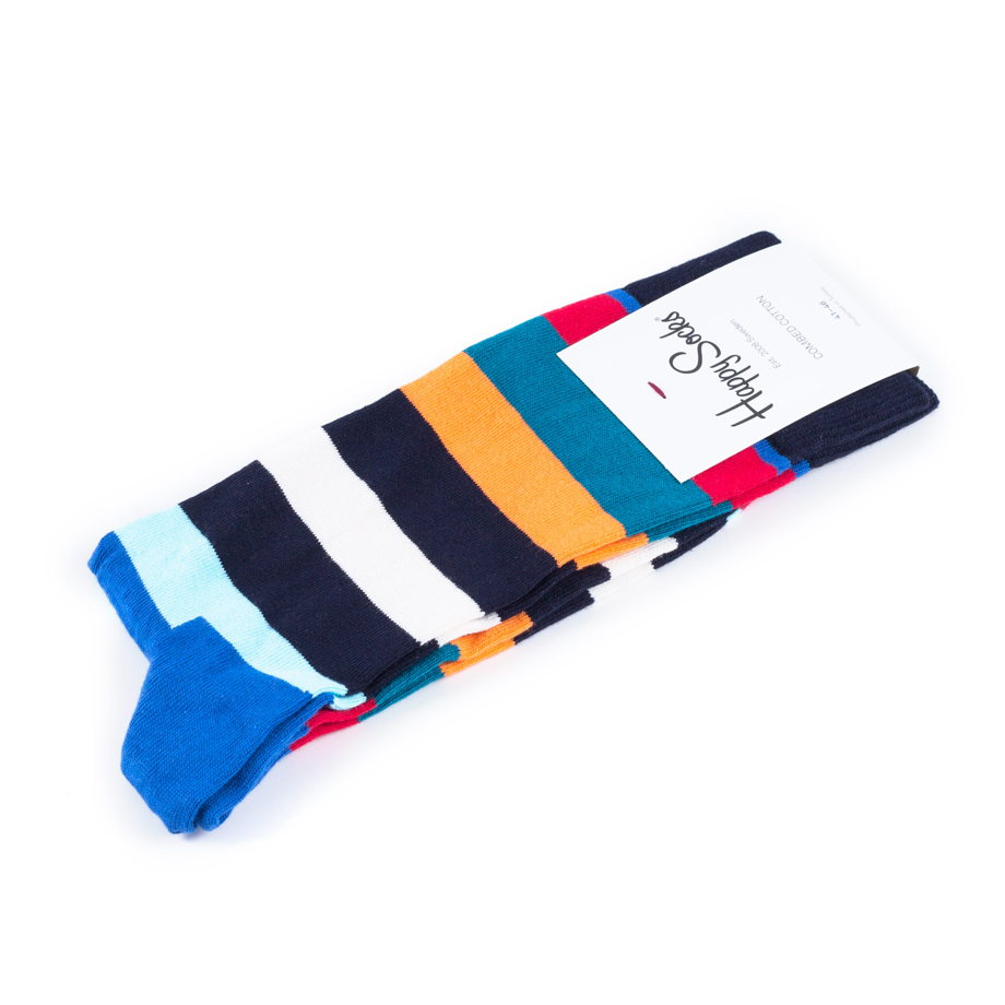 Носки в полоску Happy Socks Stripe - Multicolor