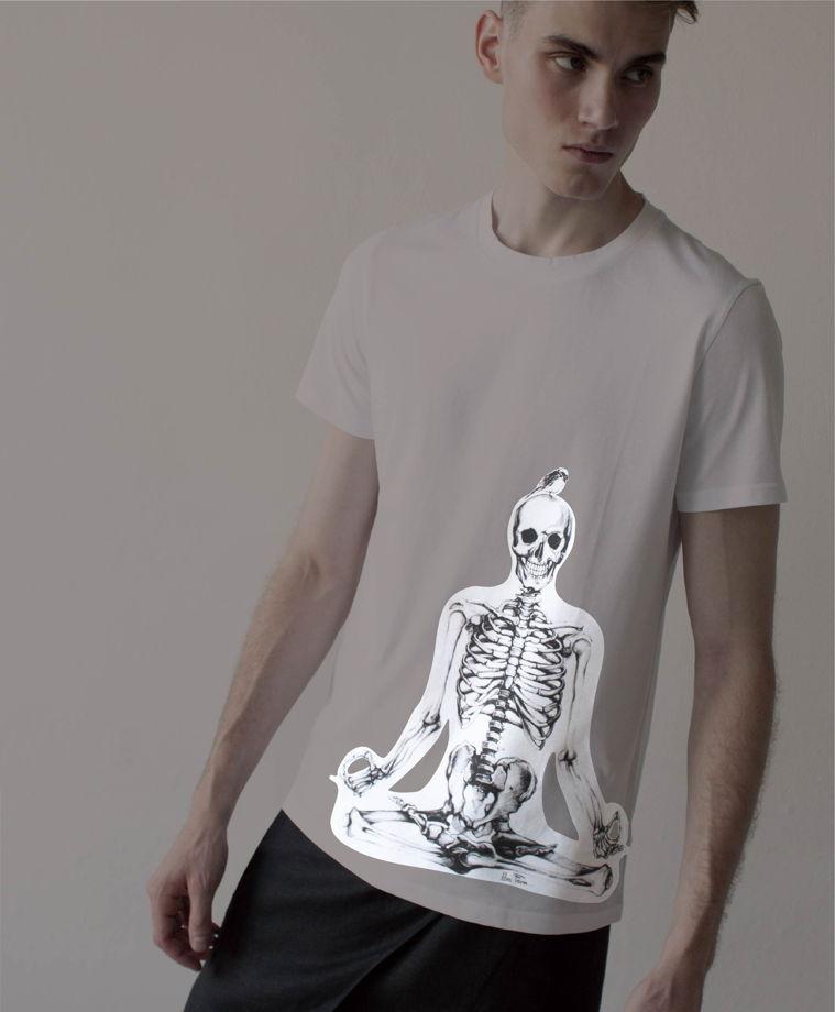 мужские футболки светящиеся в темноте
