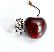 Кольцо MIZU (серебро, палладий)