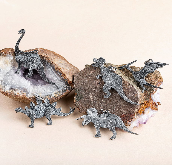Серебряная подвеска Динозавр