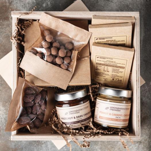 """Набор шоколадных десертов """"50 оттенков шоколадного"""" midi"""